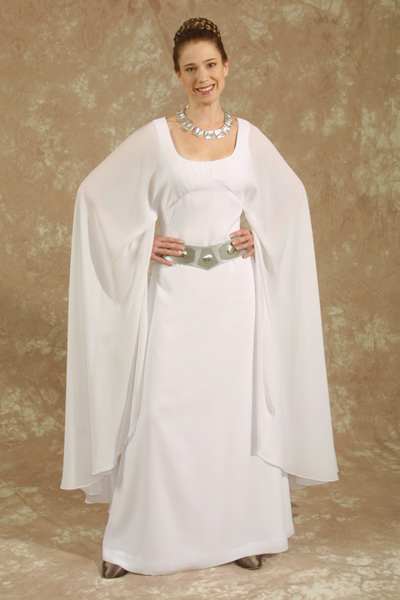 kay dee collection costumes star wars princess leia ceremonial costume. Black Bedroom Furniture Sets. Home Design Ideas