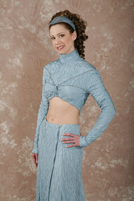 Padme star wars pictures blue dress
